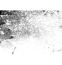 Grunge texture grain white black vector image