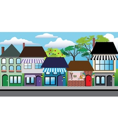 Store shops vector image vector image