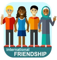 International friendship vector