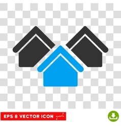 Real Estate Eps Icon vector