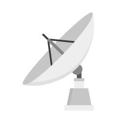 Satellite icon technology wireless space radio vector