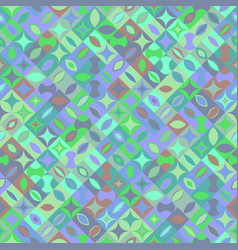 Seamless abstract colorful geometrical mosaic vector