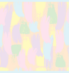 seamless pattern pastel brush strokes vector image