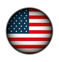 united states of america emblem vector image vector image