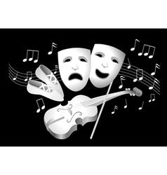 Entertainment vector image