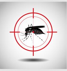 Kill mosquito flat icon designlogo vector
