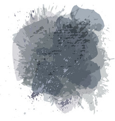 Abstract watercolor spot background splash vector