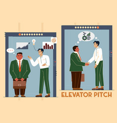 An elevator pitch a short vector