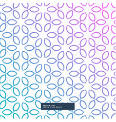 Awesome flower decoration pattern background cute vector