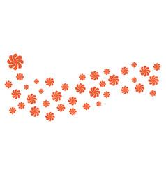 Beauty plumeria icon flowers design vector