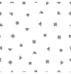 Boho Seamless Pattern vector image