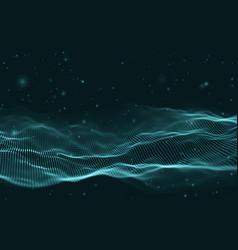 business inteligence technology background binary vector image