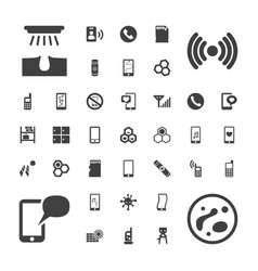 Cell icons vector