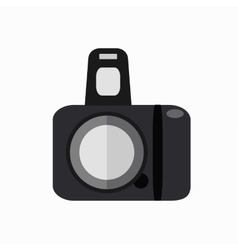 Colorfu photo camera vector image