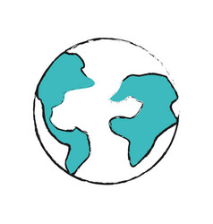 Earth planet internet connection service vector