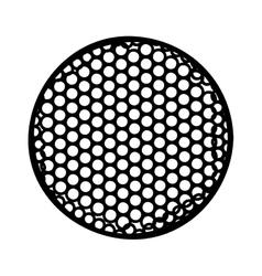 golf ball icon image vector image
