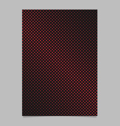 Halftone square pattern background page design vector