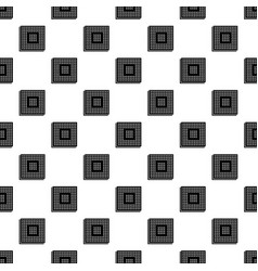 industry microchip pattern seamless vector image