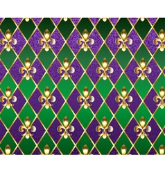 Jewelry Background Mardi Gras vector image