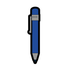 pen utensil icon vector image