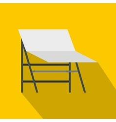 Photo studio screen icon flat style vector