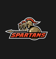 Spartan warriors vector