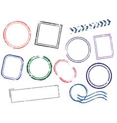 stamps frames vector image