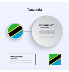 Tanzania country set of banners vector