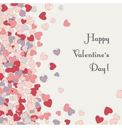 heart card valentines day vector image
