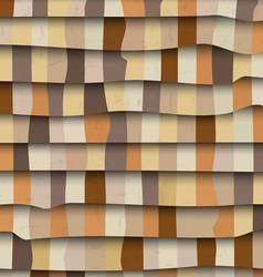 Abstract 3d textured background vector image vector image