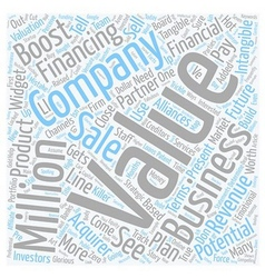 How to boost the value of your business text vector