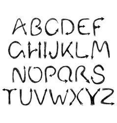 arrow alphabet vector image