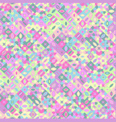 Diagonal mosaic pattern background - abstract vector