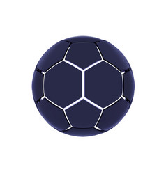 futuristic sports concept of a soccer ball vector image