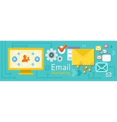 Icon for internet marketing vector image