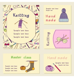 Set printable journal cards Bright collection with vector