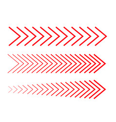 Sideways set linear signs collection vector
