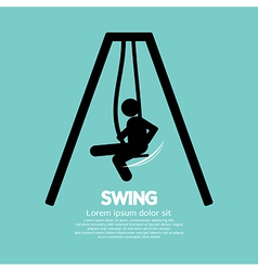 Swing vector image