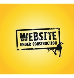 website building vector image vector image