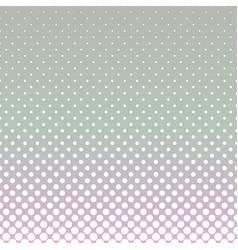 halftone dot pattern background - gradient design vector image vector image