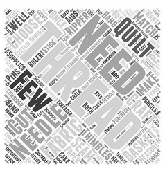 How to choose craft threads word cloud concept vector