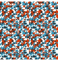 pattern with small triangles vector image vector image