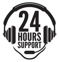 24 hours support2 vector
