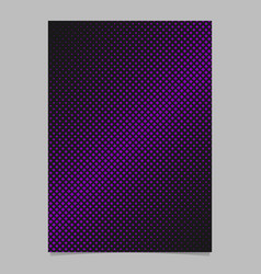abstractal halftone square pattern background vector image