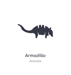 Armadillo icon isolated icon from vector