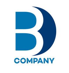bd letter logo vector image