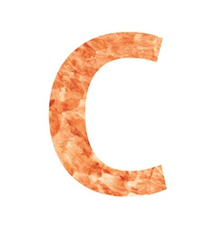 c land letter vector image