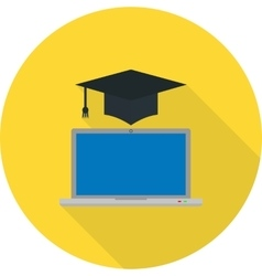 Get Degree Online I vector