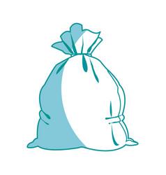 money bag bank saving financial vector image