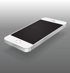 Smartphone perspective mock up vector image